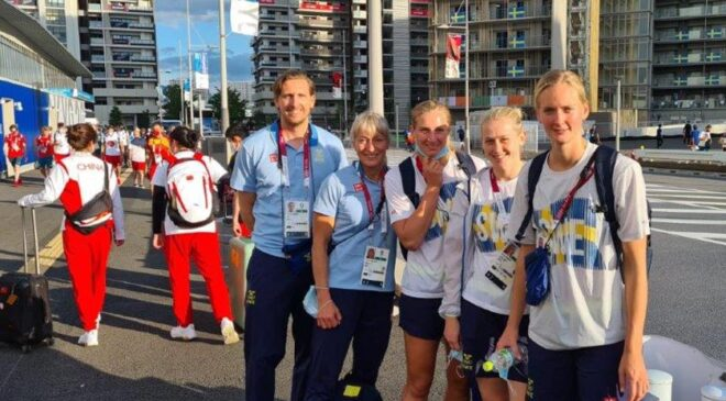 Annelie och Foppa i OS-succétruppen